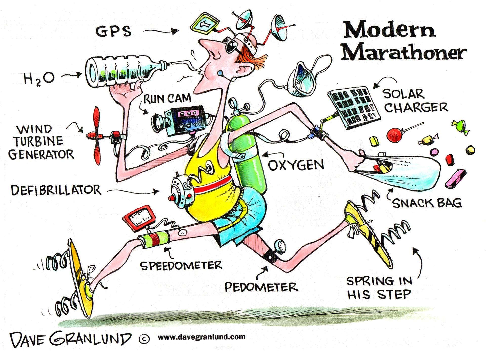 Mondern Marathoner