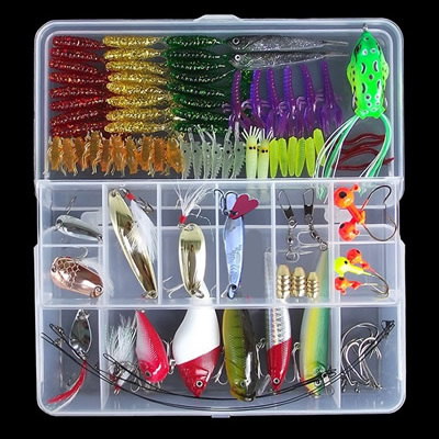 The basic fishing equipment 7
